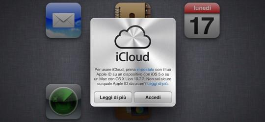 Usare iCloud su Snow Leopard e PC Windows