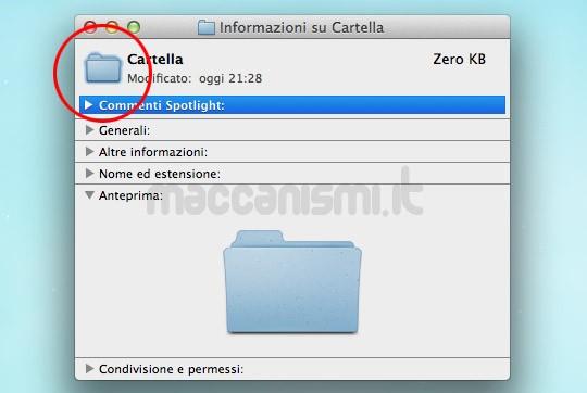 Come cambiare le icone delle cartelle di Mac OS X