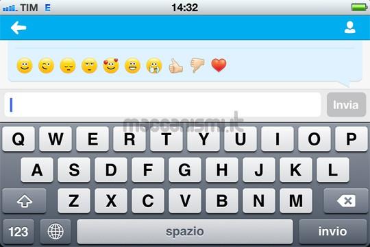 Emoticon su Skype per iPhone e iPad: visualizzare le faccine su windows e mac