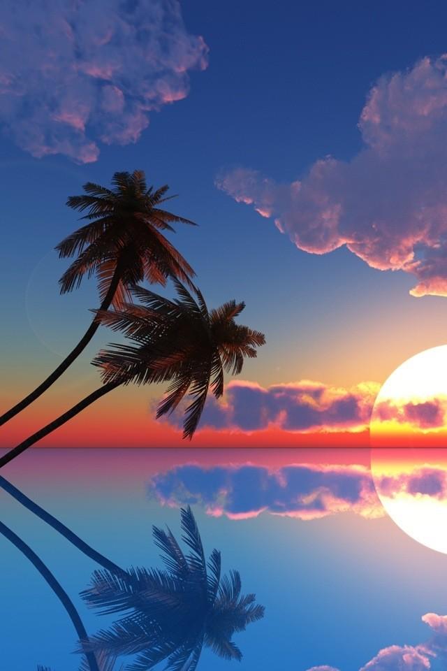 Popolare Sfondi per iPhone 4 e 4S per il mare, le vacanze e l'estate: i  XQ28