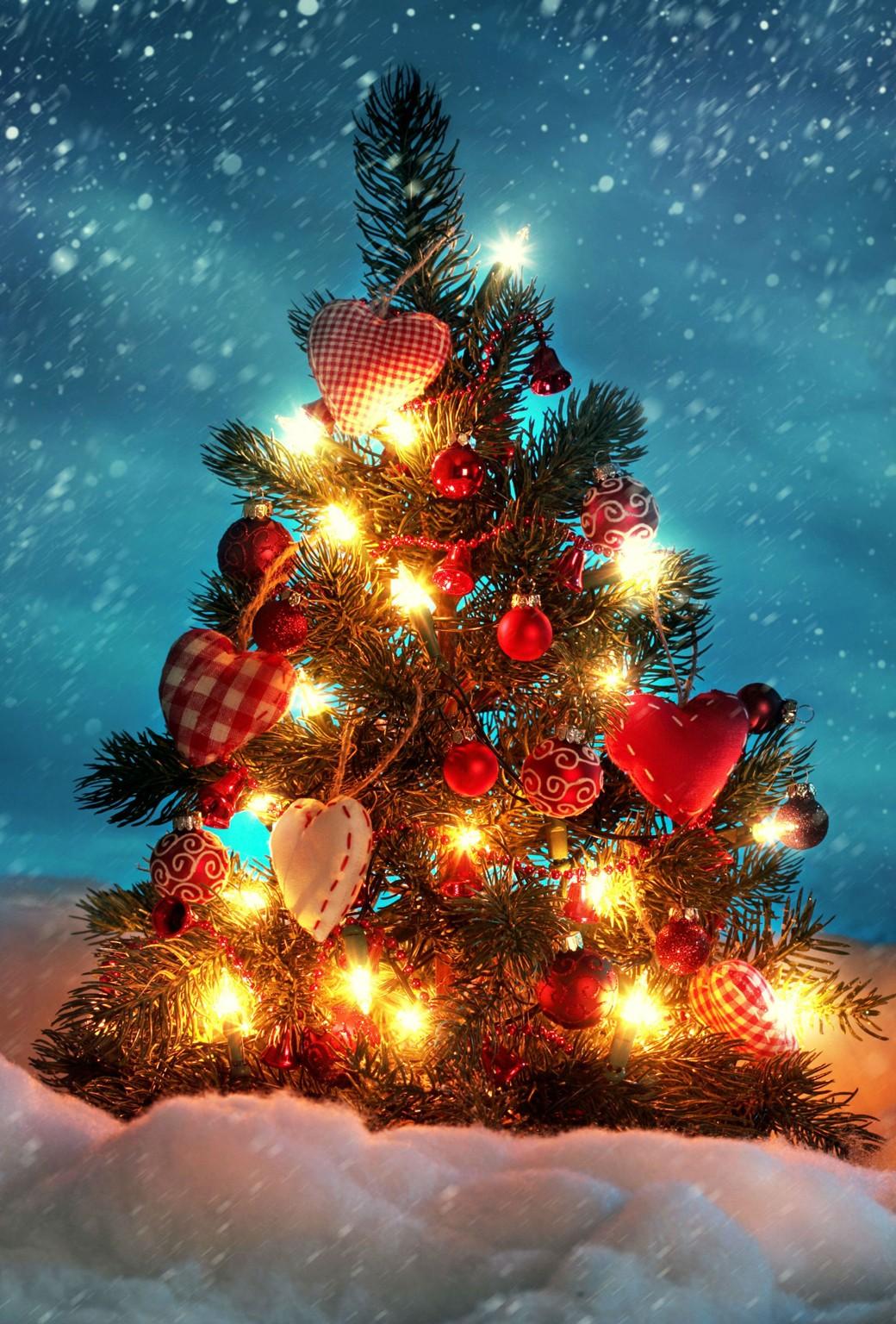 Sfondo Animato Natale.Sfondo Natale Animato Iphone 5 Ios 7 Parallax 3d Maccanismi