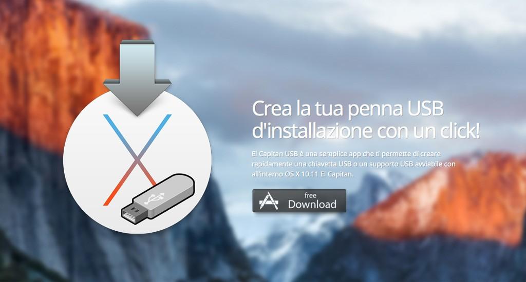 Formattare il Mac e installare da zero OS X El Capitan