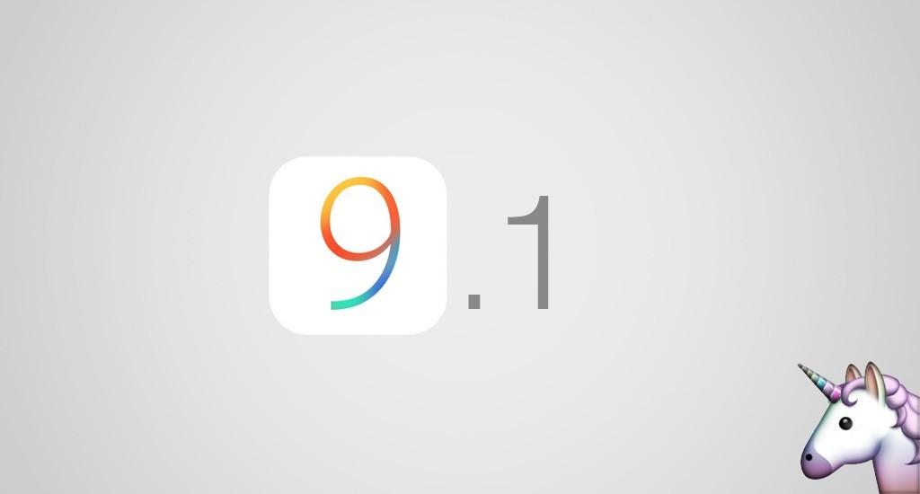 Aggiornamento iOS 9.1: nuove emoji e maggiore stabilità