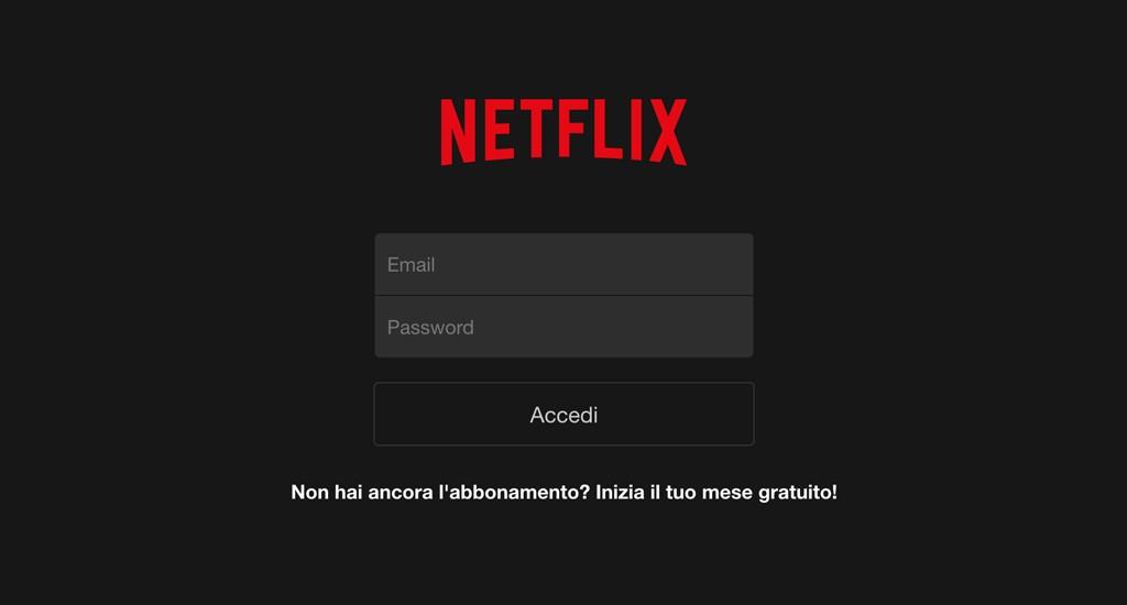 Netflix per iPhone e iPad: film e serie TV in streaming gratis per un mese