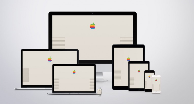 Apple Macintosh Retro Wallpaper - Gli sfondi per computer, iPhone e iPad ispirati ai vecchi computer Mac