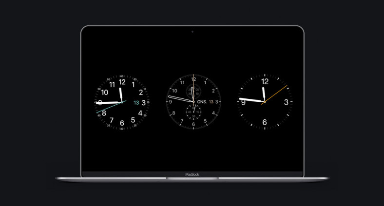 Apple Watch Mac Screensaver
