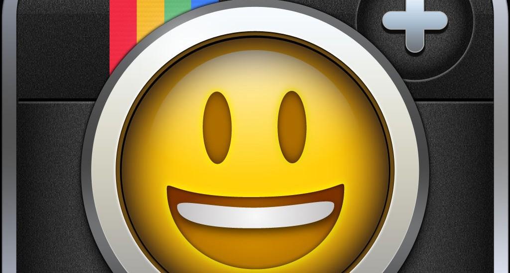 Instamoji l'app per aggiungere le emoji sulle foto di Instagram
