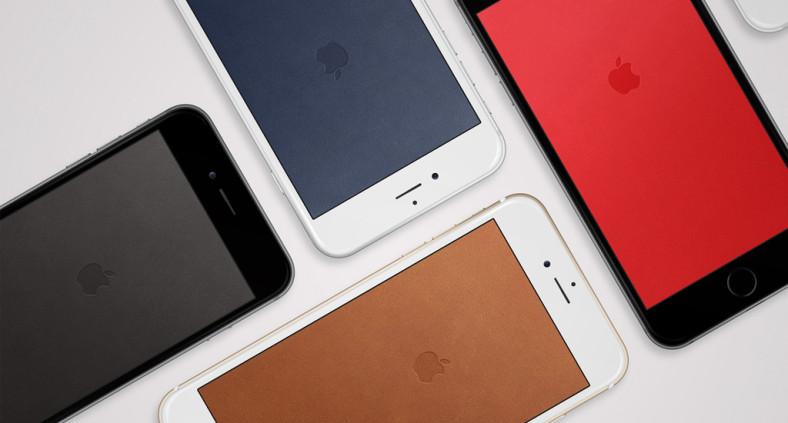 Sfondi per iPhone che richiamano la cover in pelle ufficiale