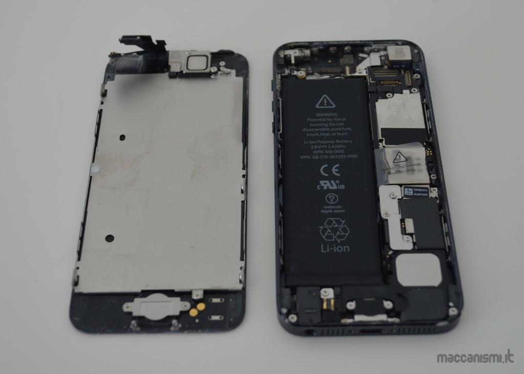 Rimozione schermo iPhone 5