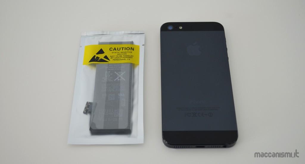 batteria iphone 5 nuova si scarica velocemente
