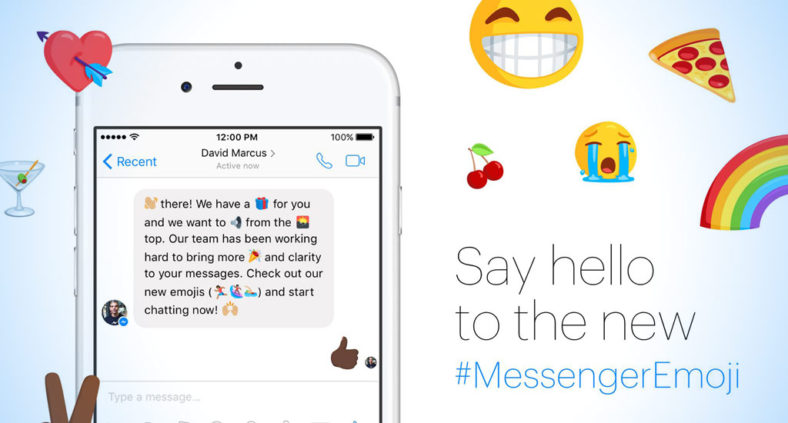 Nuove Emoji di Facebook Messenger