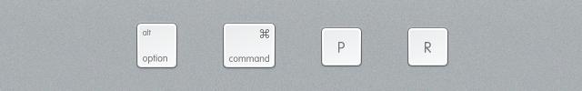 Reset NVRAM Mac