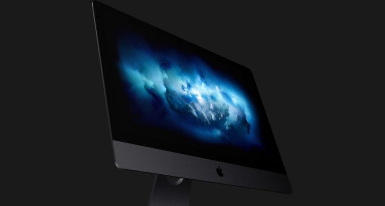 Download del wallpaper iMac Pro nuvole di fumo blu