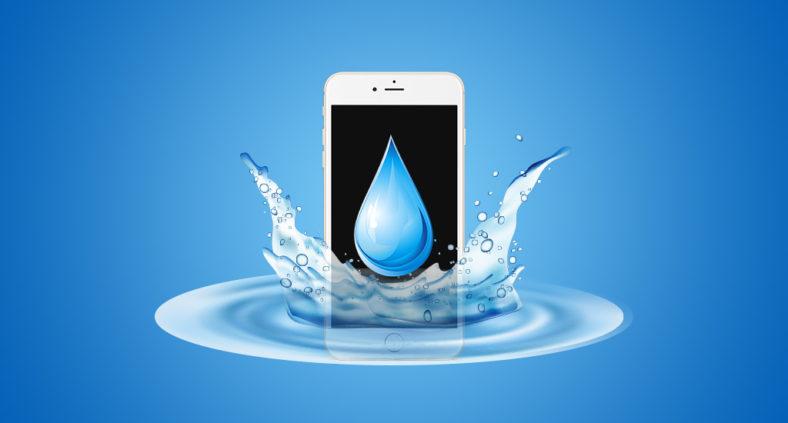 Come salvare l'iPhone caduto in acqua o bagnato