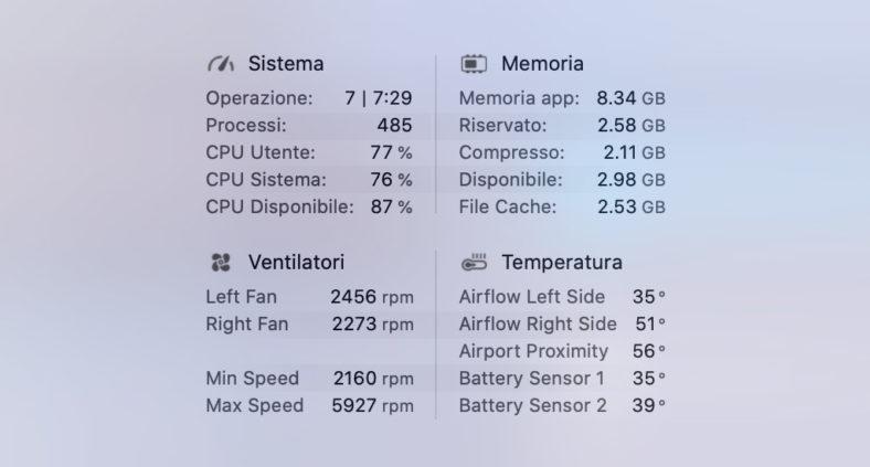 Sovraccarico della CPU con macOS 10.15 a causa del processo bsdtar