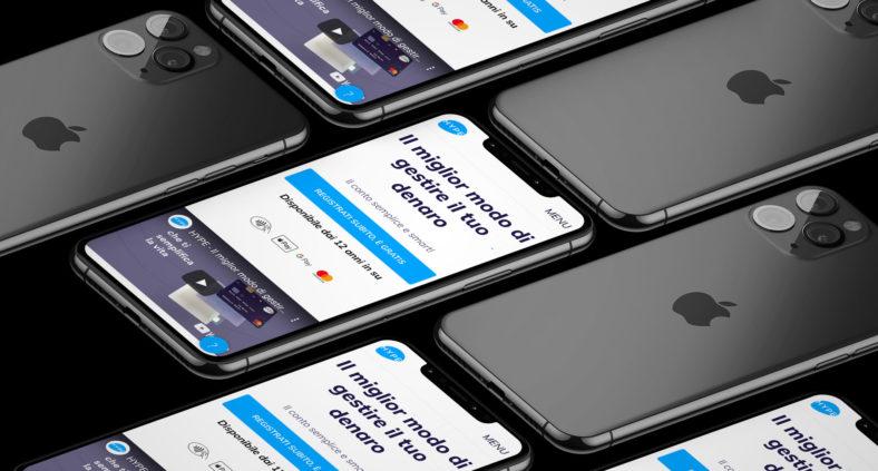 Accredita il tuo stipendio su carta HYPE Plus e vinci un iPhone 11 Pro