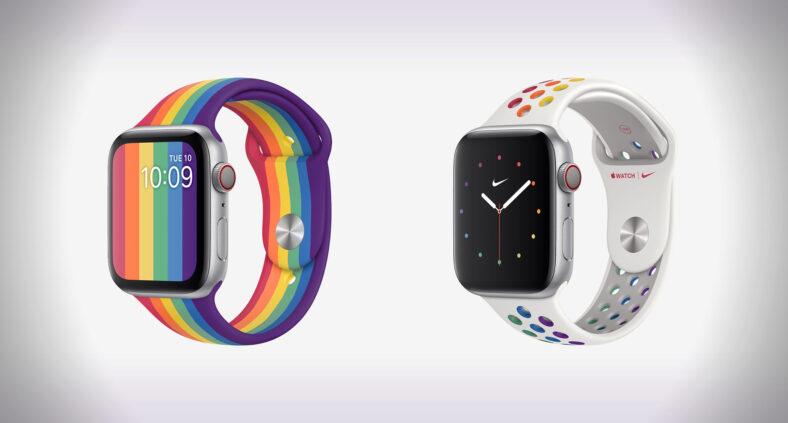Nuovi cinturini e nuovi quadranti Pride Edition 2020 per Apple Watch