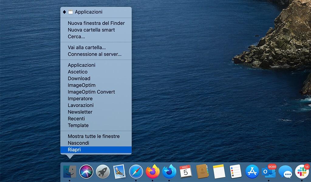 Impossibile eliminare cartella su macOS perché compare nuovamente