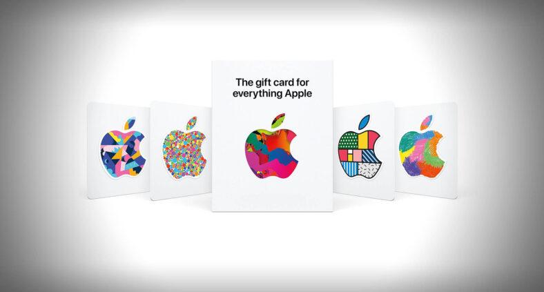 Una nuova Gift Card valida per tutti i prodotti e gli store Apple